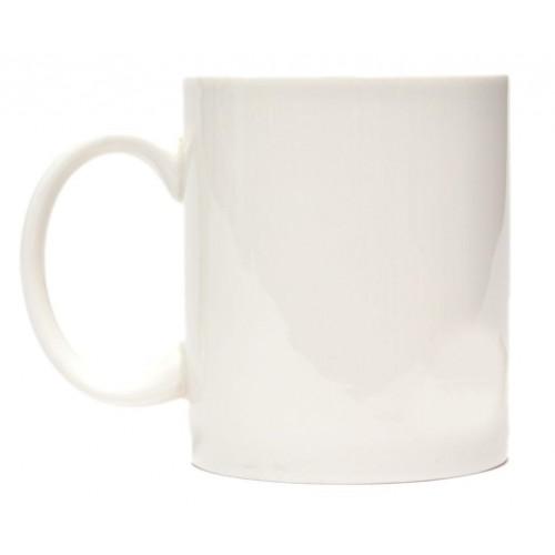Магическа порцеланова чаша с декорация сърдечен ритъм