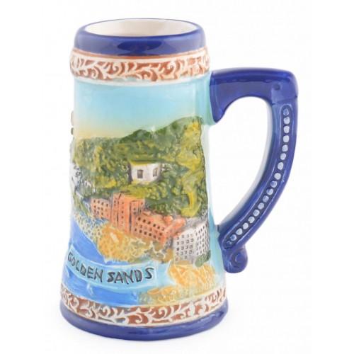 Сувенирна чаша с изображения  от Варна и Златни пясъци