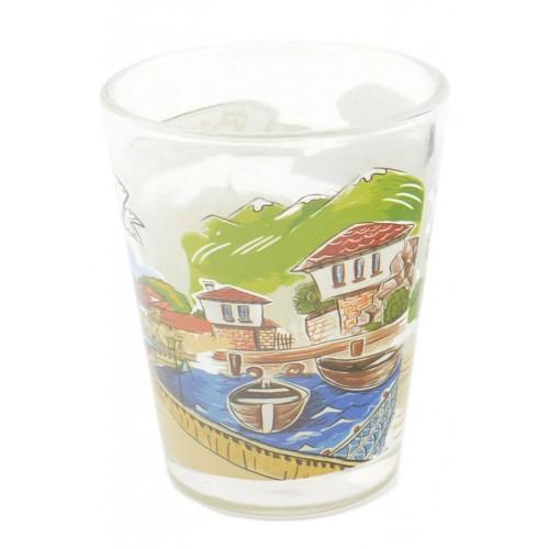 Сувенирна чаша за шот - забележителности от българското черноморие