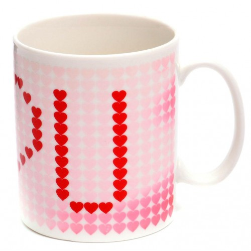 "Магическа чаша с надпис ""I ♥ U"""