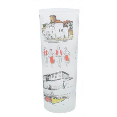 Сувенирна чаша, тип шот - забележителноси от Несебър
