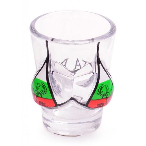 Сувенирна чаша - шот във формата на женски гърди