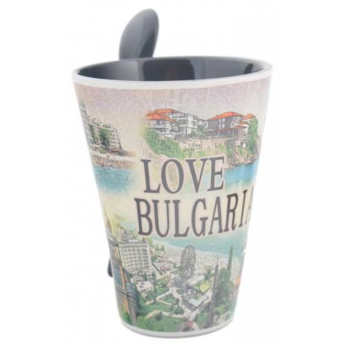 Сувенирна чаша- Love Bulgaria
