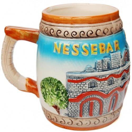 Сувенирна релефна чаша  - Несебър