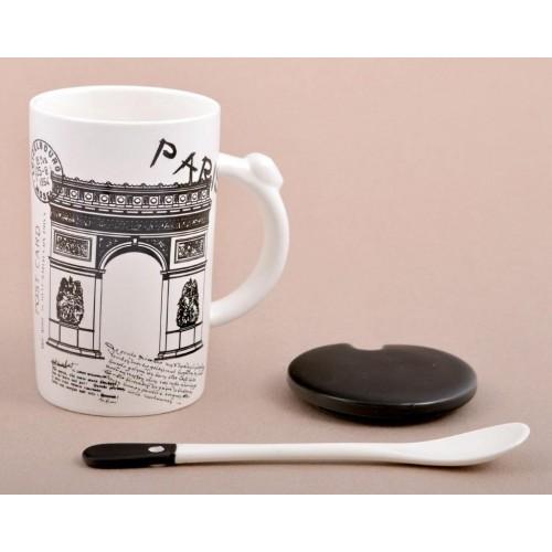 Керамична чаша за пътешественици