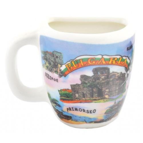 Сувенирна чаша с картини от  Българското Черноморие