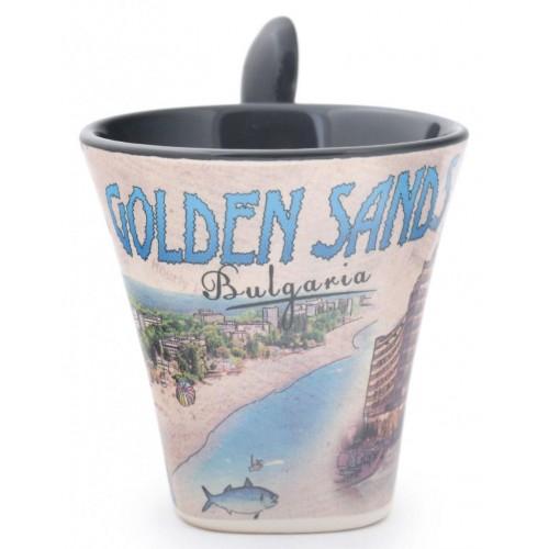 Сувенирна чаша със забележителности от Златни пясъци