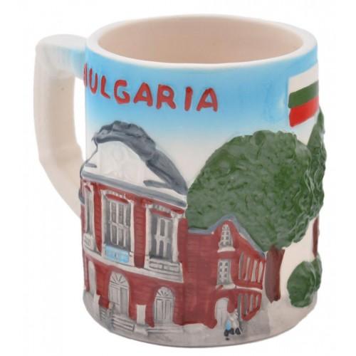 Порцеланова чаша със забележителности от Варна