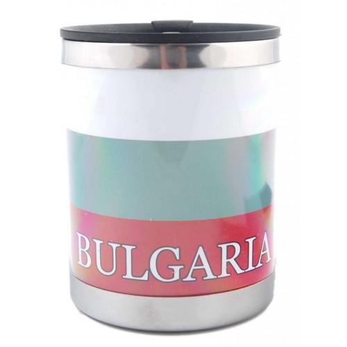 Сувенирна термос-чаша от България