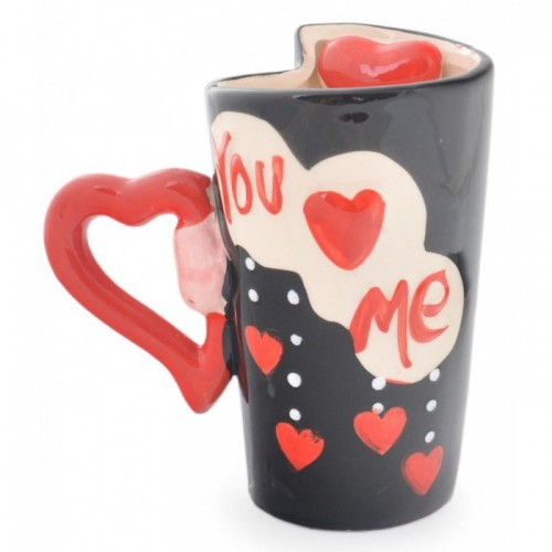 Нестандартна чаша I love you