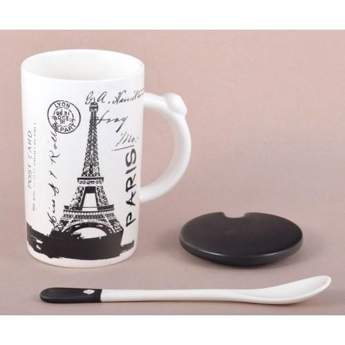 Керамична чаша с Айфеловата кула