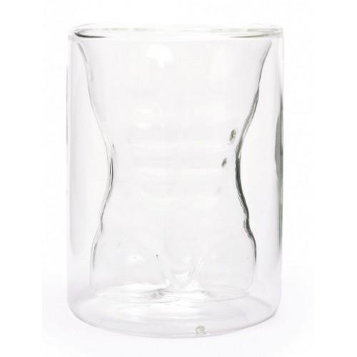 Забавна чаша с вграден торс на голо мъжко тяло