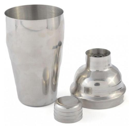 Стандартен класически шейкър от три части - чаша, цедка и капачка