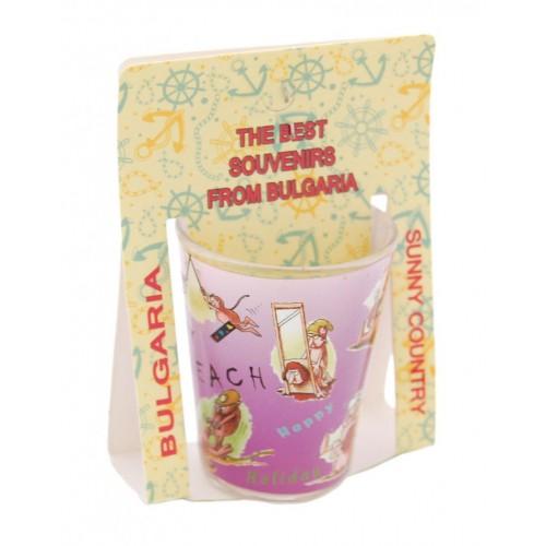 Сувенирна чаша за шот с еротични пози
