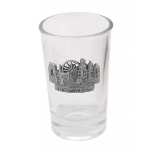 Сувенирна чаша за шот с фигурка - забележителности по Българското Черноморие