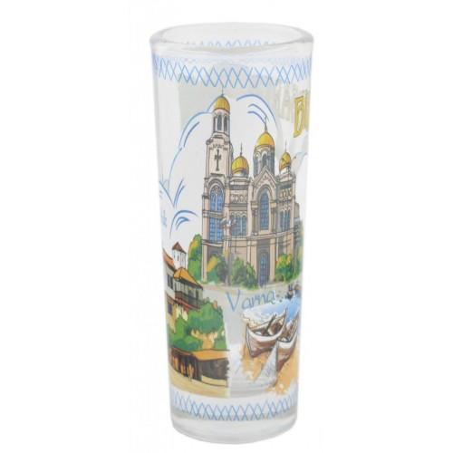 Сувенирна чаша за шот - забележителности от Черноморието