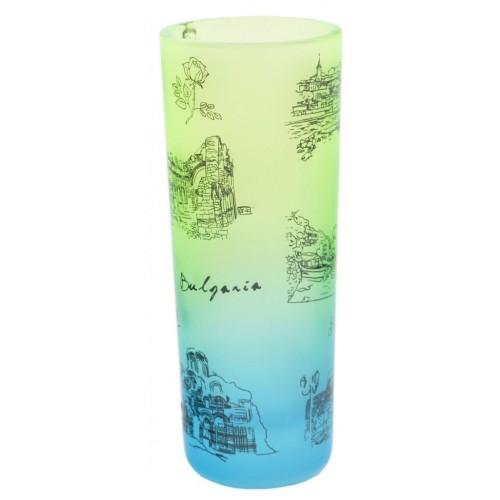 Сувенирна чаша за шот със забележителности от Несебър