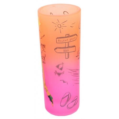 Сувенирна чаша за шот, декорирана с диско момичета