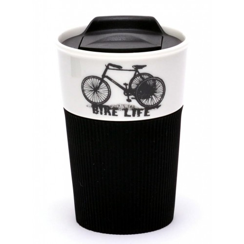 Термо чаша с капак, декорирана с превозно средство