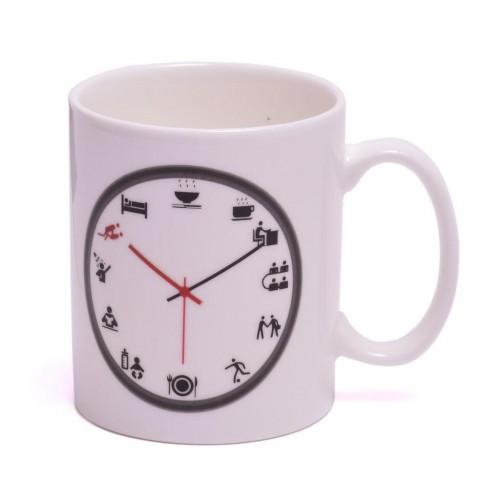 Магическа чаша часовник с график за деня