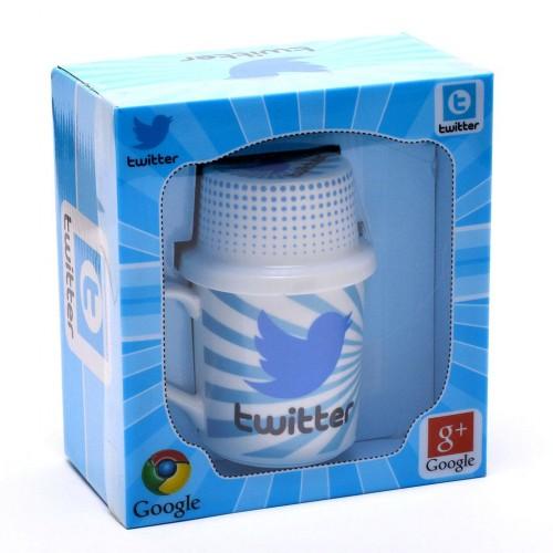 Керамична чаша с изображение от социалните мрежи 3 в 1