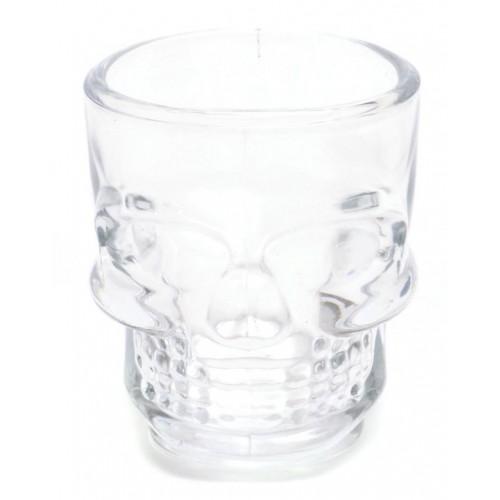 Комплект чаши за шотове във формата на черепи