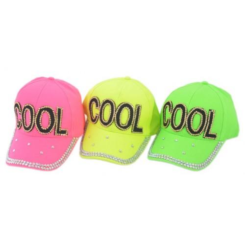 Спортна шапка с надпис COOL