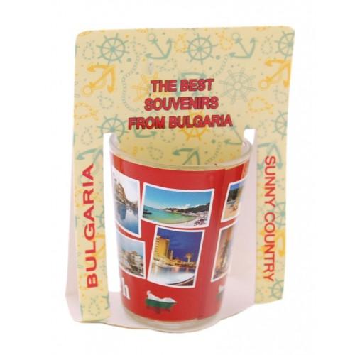 Сувенирна шот чаша -  Слънчев бряг