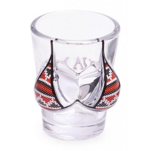 Сувенирна шот чаша във формата на женски гърди