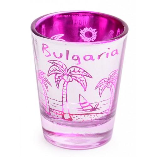 Сувенирна шот чаша с палми