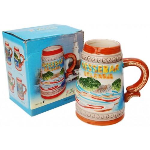 Сувенирна релефна чаша – Несебър