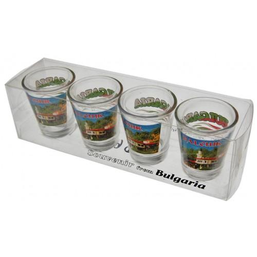 Комплект чаши с двореца в Балчик