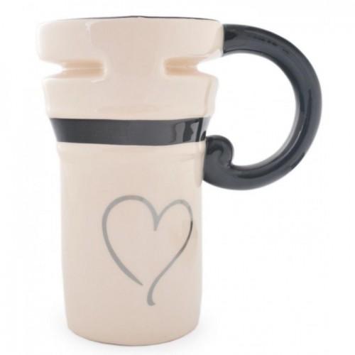 """Керамична чаша с надпис """"Mrs."""""""