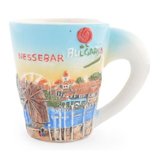 Сувенирна чаша Несебър