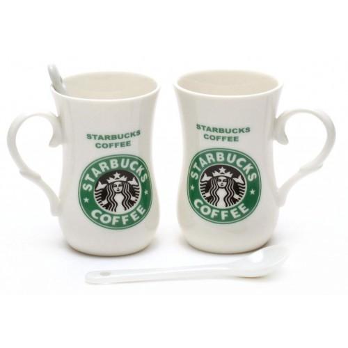 Комплект керамични чаши - Starbucks coffee