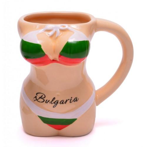 Порцеланова чаша - женски торс