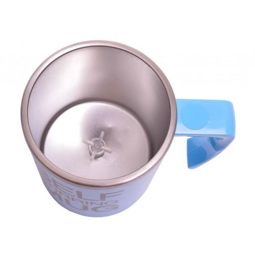 Термо чаша с автоматична бъркалка