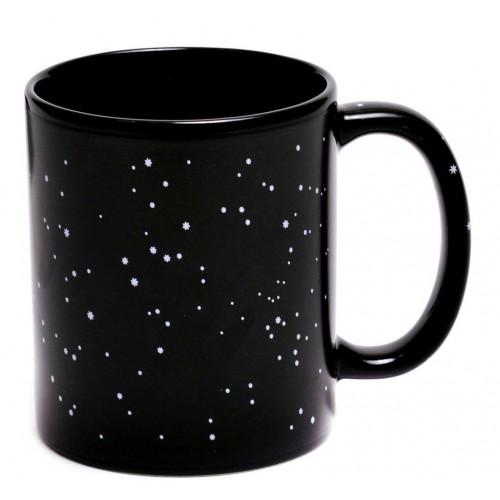 Магическа порцеланова чаша с декорация зодиалкални знаци