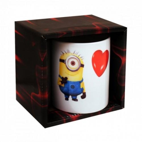 Порцеланова чаша с Миньон и сърце