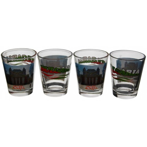 Комплект стъклени шотове София