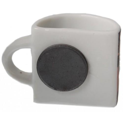 1/2 чаша с магнитче за хладилник