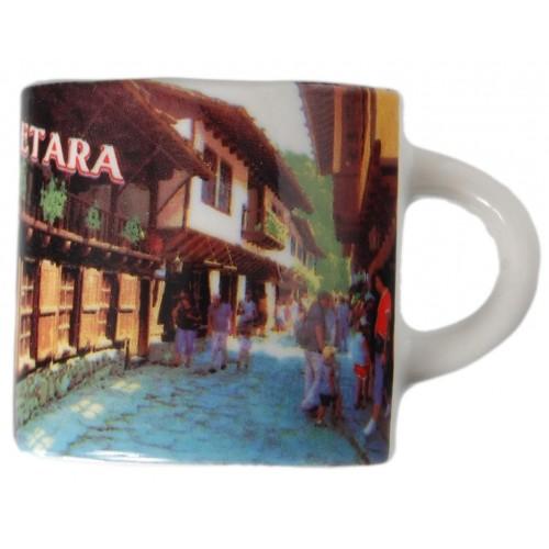 Сувенирна 1/2 чаша с магнит от Етъра