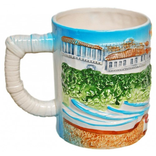Сувенирна порцеланова чаша - Несебър