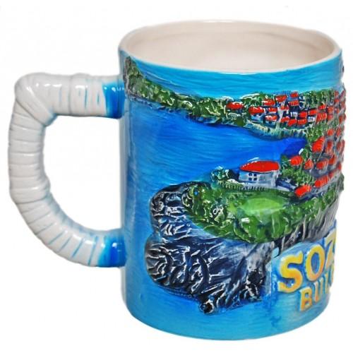 Сувенирна порцеланова чаша - Созопол